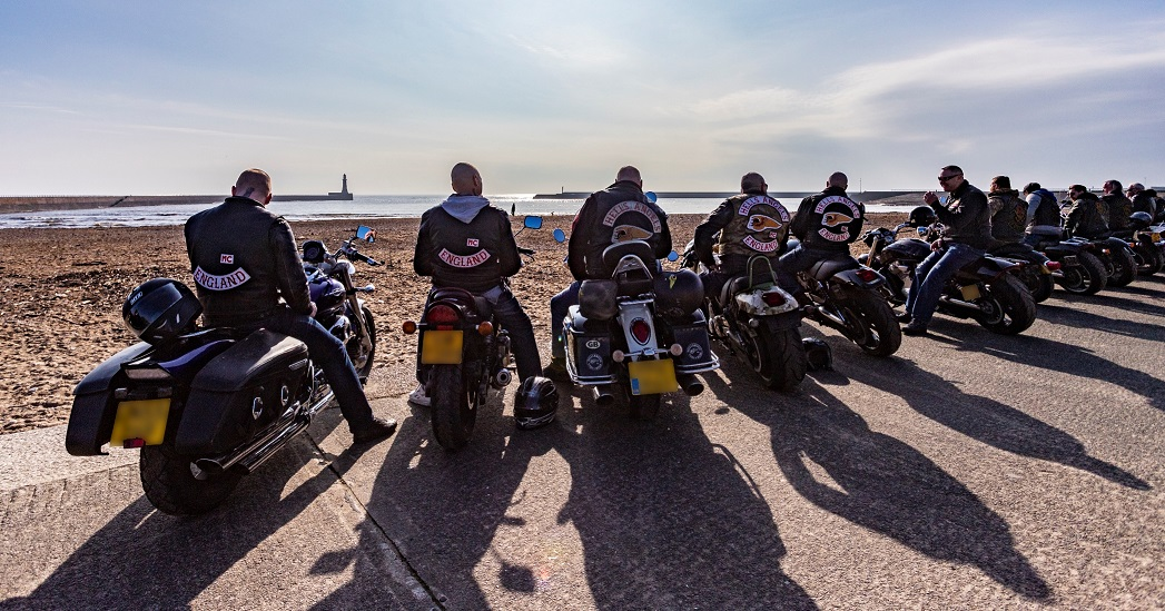 Angels of the North get on their bikes in Sunderland