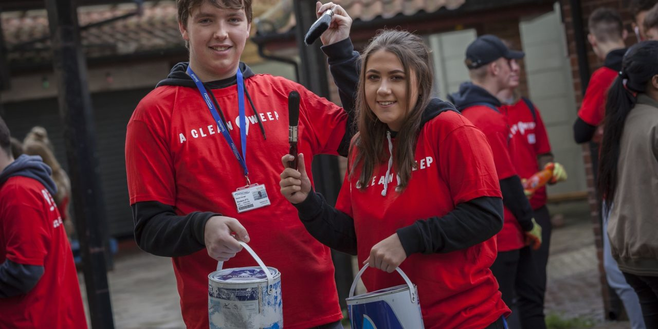 College army mobilises to spruce-up Sunderland streets