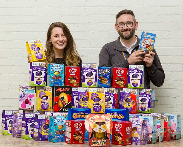 Gentoo help give those less fortunate a 'cracking' Easter