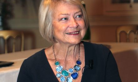Kate Adie OBE receives BAFTA fellowship