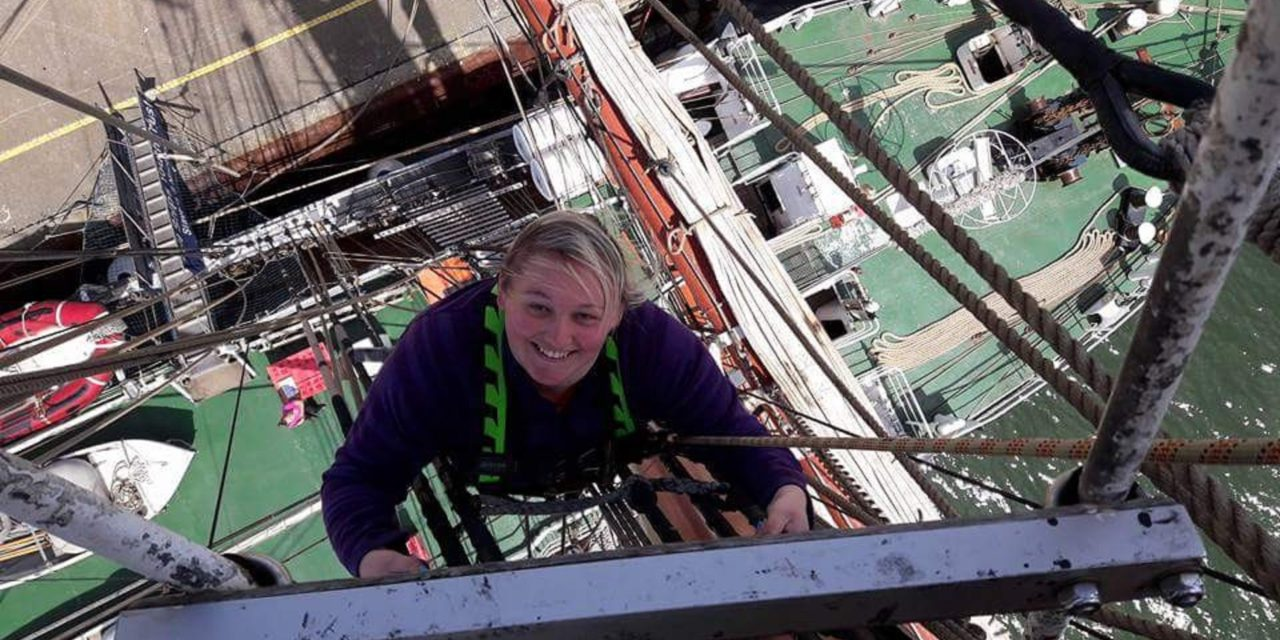 Sky's the limit for Tall Ship student afraid of heights