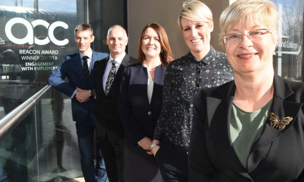 Sunderland College celebrates success with businesses