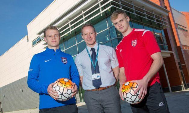 Sunderland College players make national squads