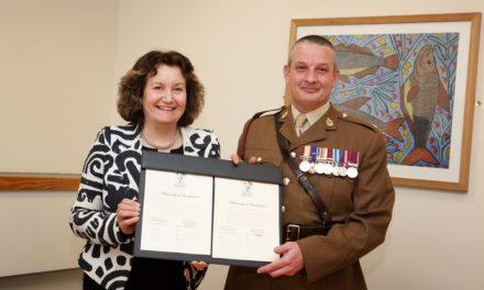 University of Sunderland extending helping hand to veterans