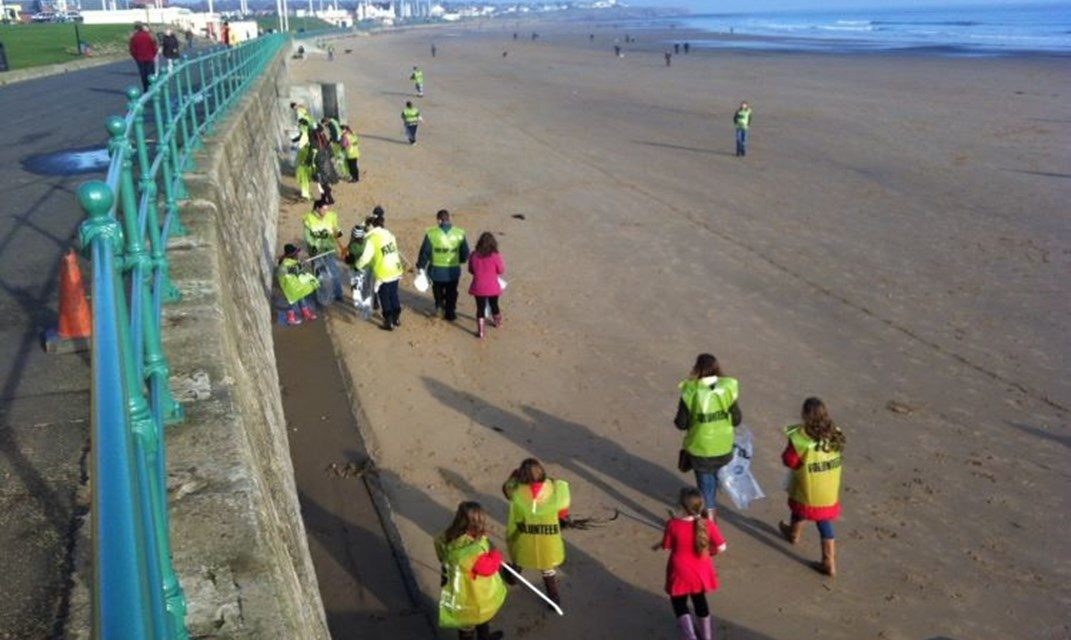 Avast me hearties – for a pirate themed beach clean