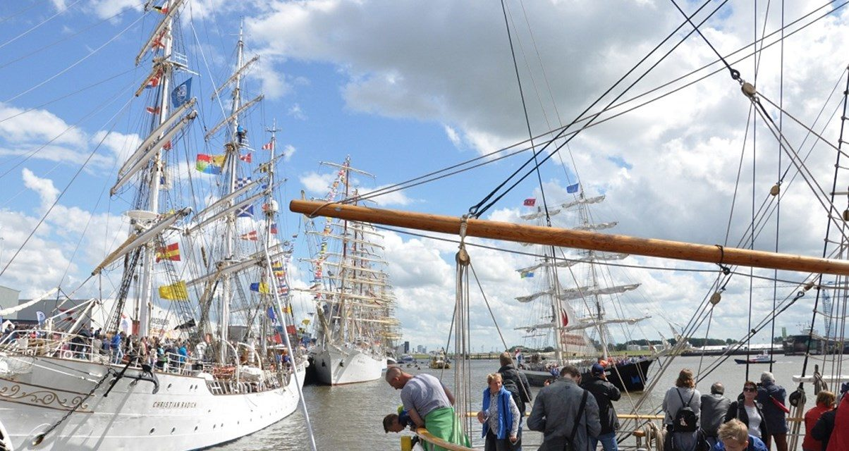 Parking booking opens for the Tall Ships Races