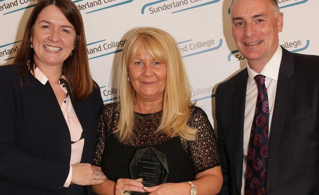Sunderland College celebrates long-serving staff