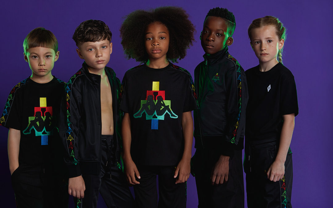 Marcelo Burlon Kids arrives at Designer Childrenswear