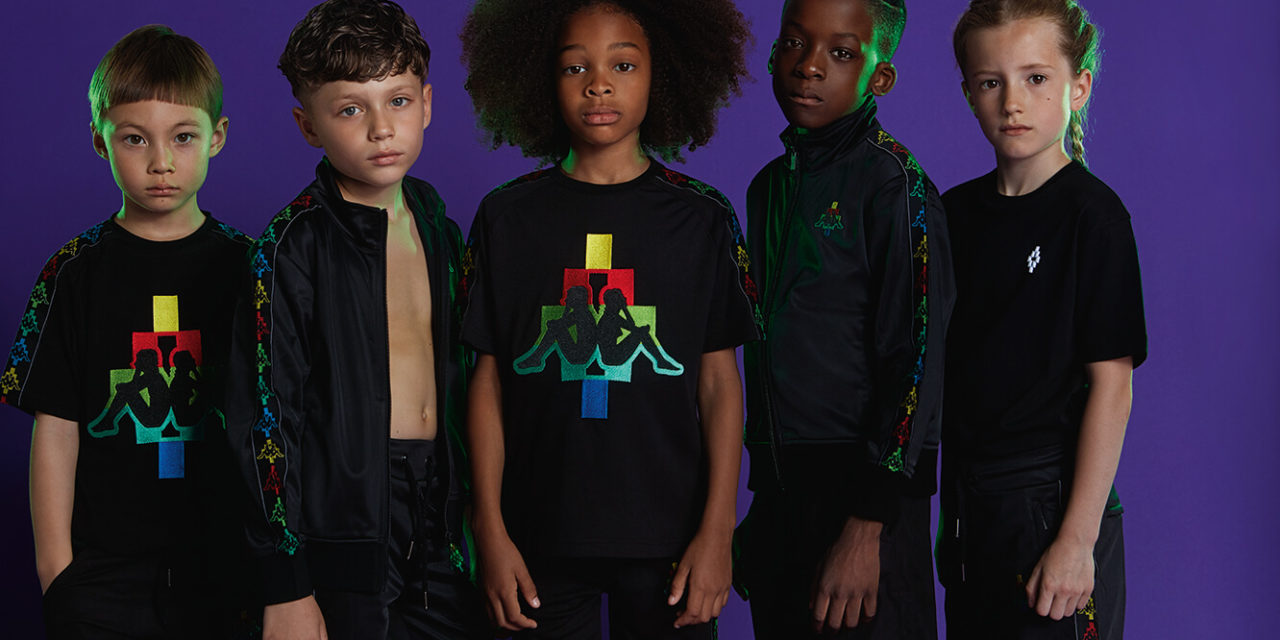 Marcelo Burlon Kids arrives at Designer Childrenswear