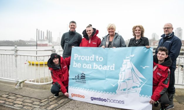 Gentoo gives two young customers the chance of a lifetime