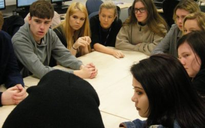 Students help develop award-winning theatre production