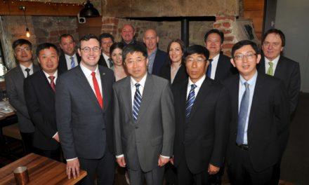Chinese delegation visits Sunderland