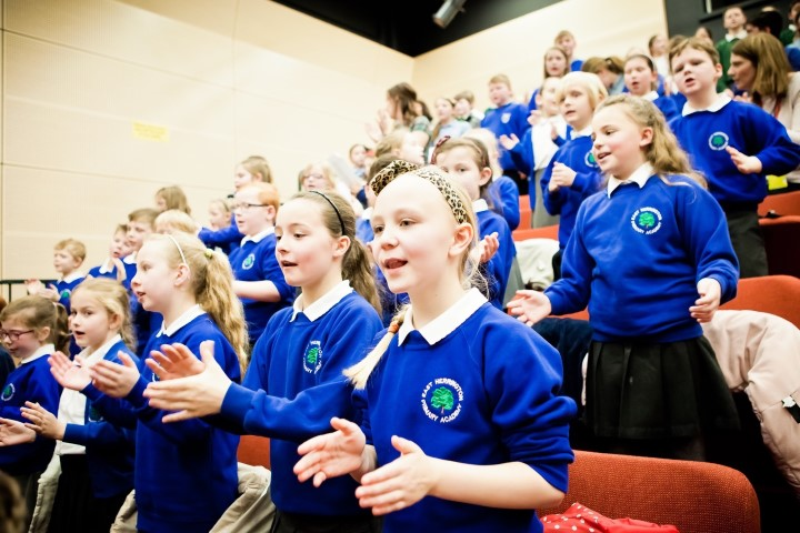 Schoolchildren urged to take part in a big sing – and smash a record