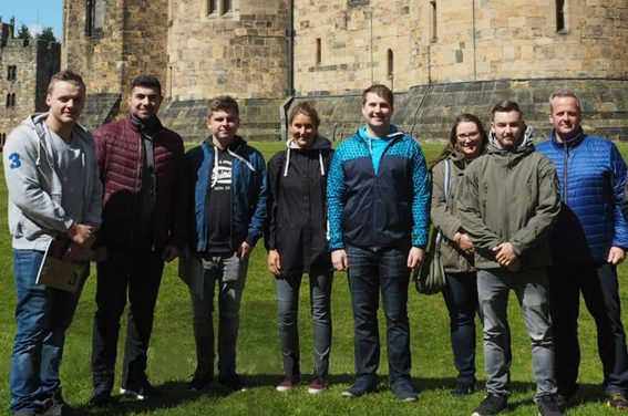 German engineering apprentices impressed with college facilities