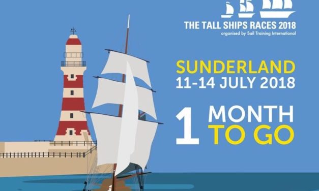 One month to go until Tall Ships Races Sunderland 2018