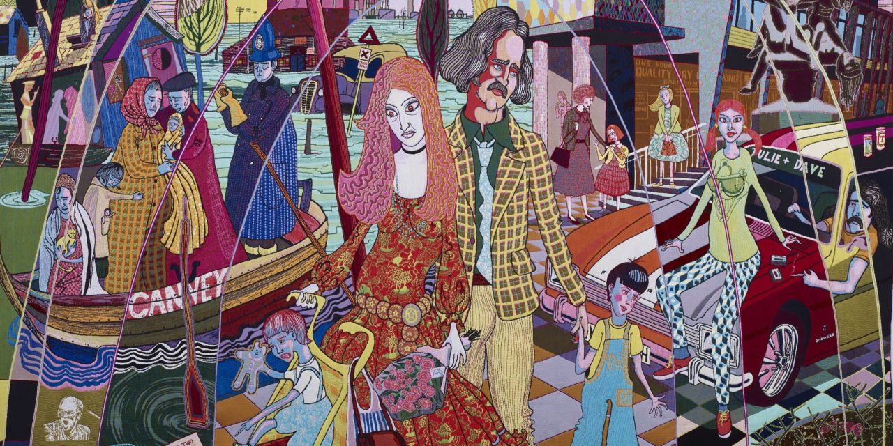 Grayson Perry's tapestries tour comes to Sunderland