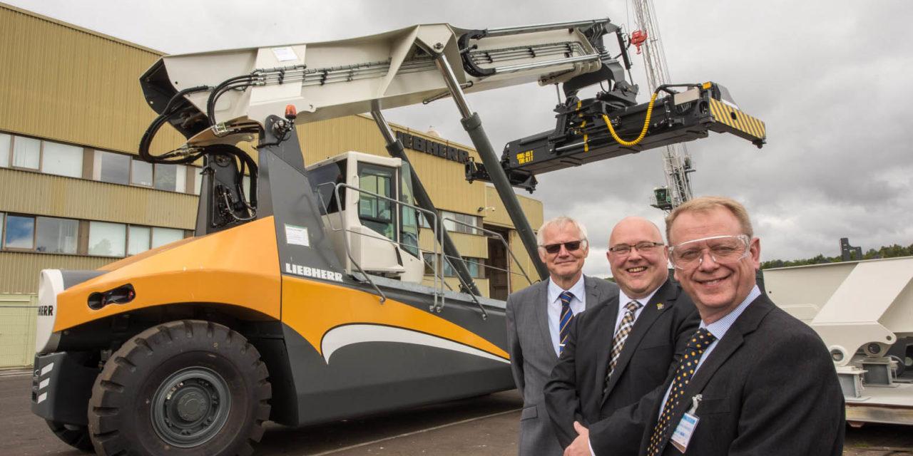 Port of Sunderland helps Liebherr reach new heights