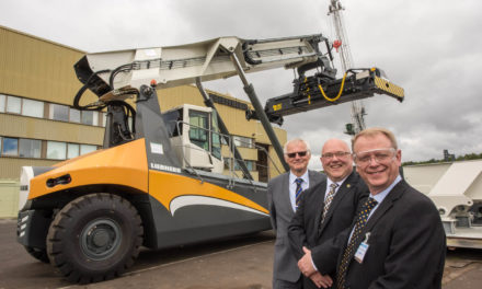 Port of Sunderland helps Liebherr reach new heights