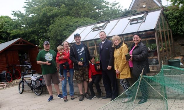 Stagecoach provides boost for community project
