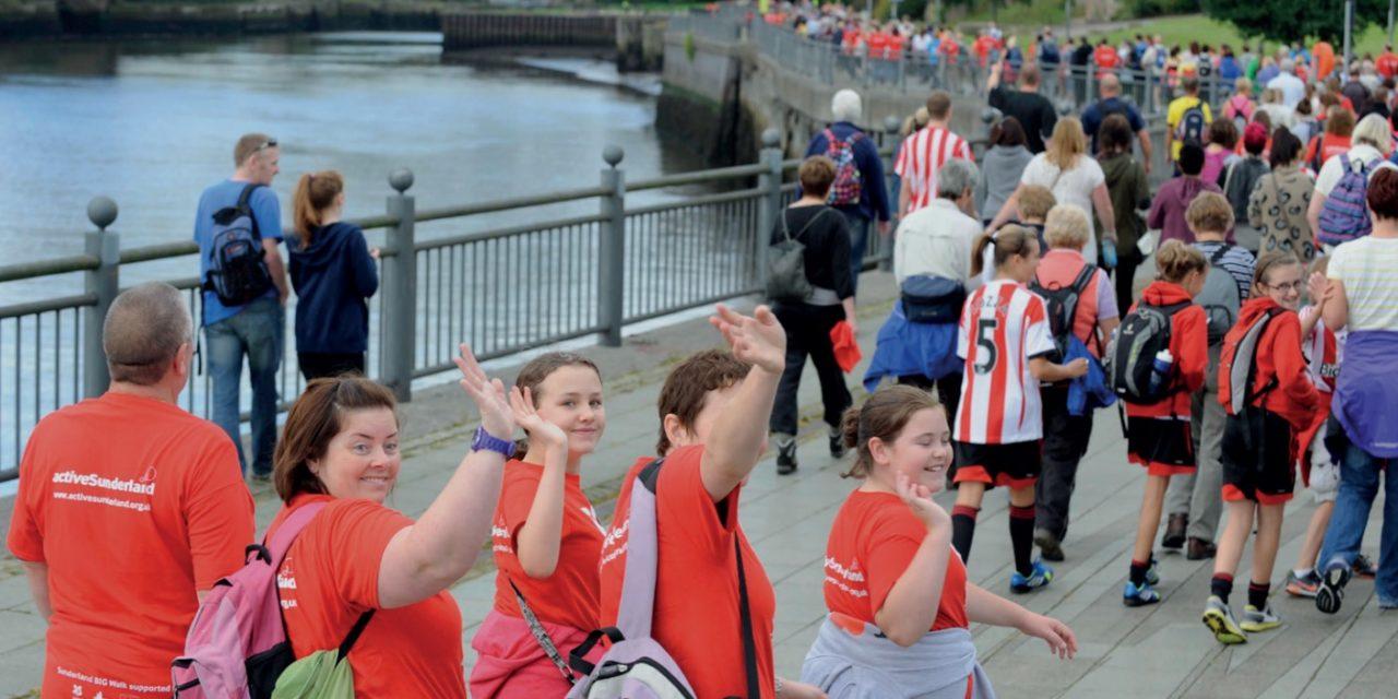 Return of Active Sunderland's BIG Walk