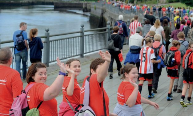 Return of Active Sunderland's BIG Walk