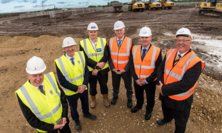 Major manufacturing hub starts to take shape