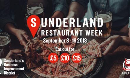 Sunderland Restaurant Week is back!