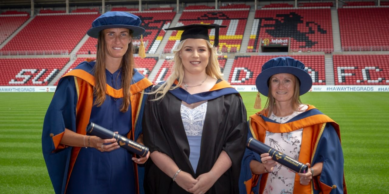 University of Sunderland: Proud of our students and proud of our city