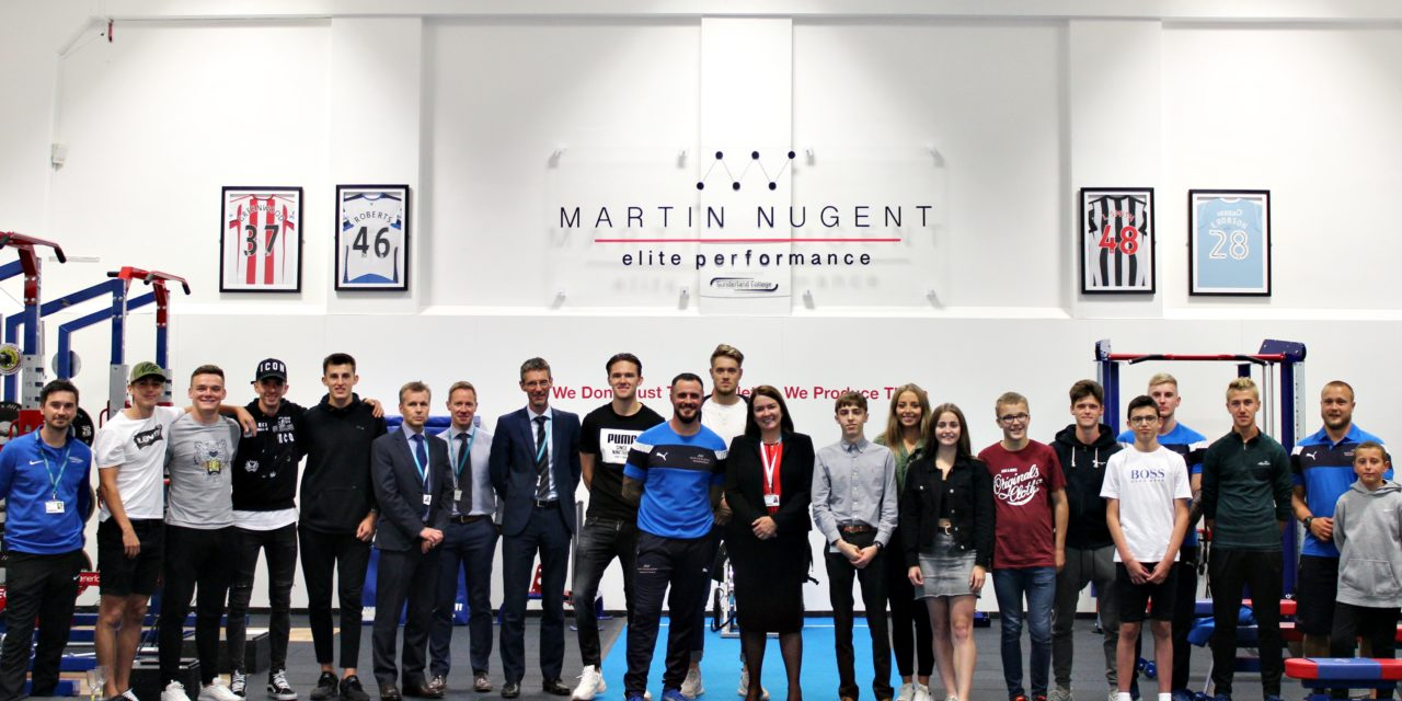 Martin Nugent Elite Performance launched at Sunderland College
