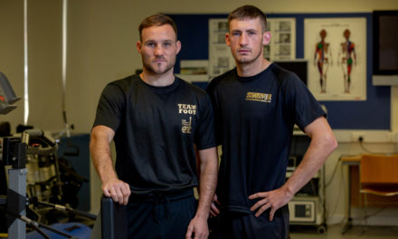 Boxers turn up the heat in University of Sunderland training chamber