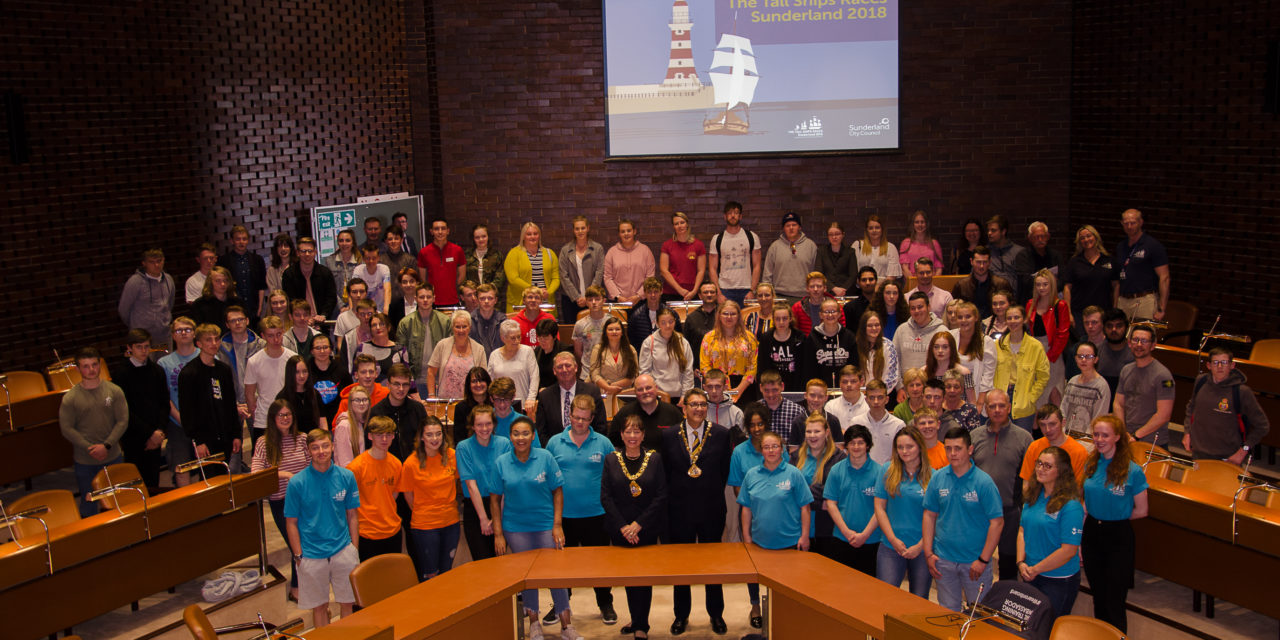 Tall Ships volunteers officially thanked for hard work and dedication