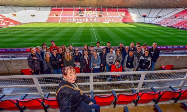 German students visit Sunderland