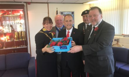 Mayoral support for Poppy Appeal 2018