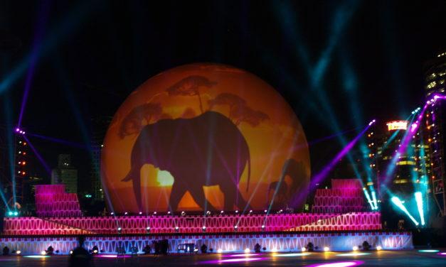 Peter Pan at Sunderland Illuminations