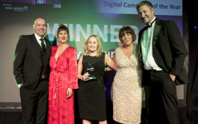 University of Sunderland website takes top marketing prize