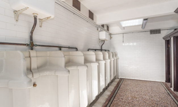 Historic tram shelter toilets get new lease of life