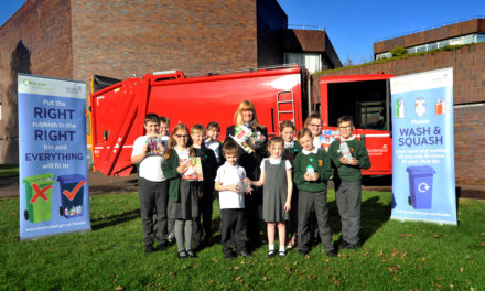 Recycling pays off for local schools