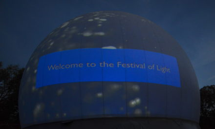 Illuminating experience for Festival of Light visitors