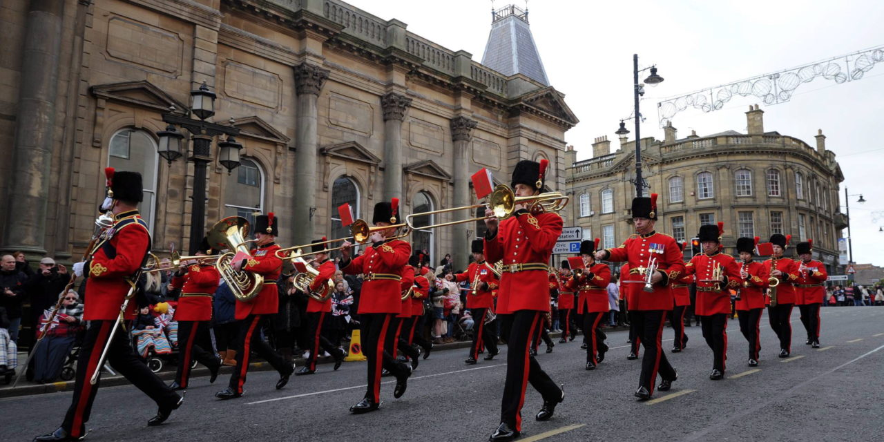SUNDERLAND REMEMBRANCE PARADE AND SERVICE