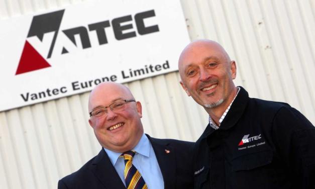 Vantec building innovation centre at Sunderland