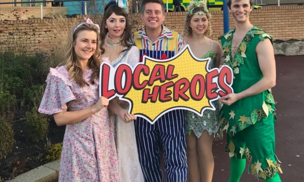 Panto stars launch 'Local Heroes' 2 for 1 theatre ticket scheme