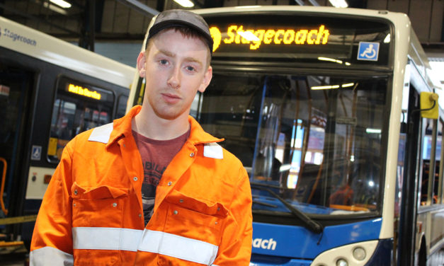 New apprentice looks forward to a career in engineering