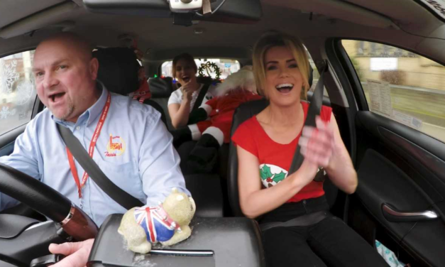 Taxi firm's own Carpool Karaoke Christmas Special goes down a hit