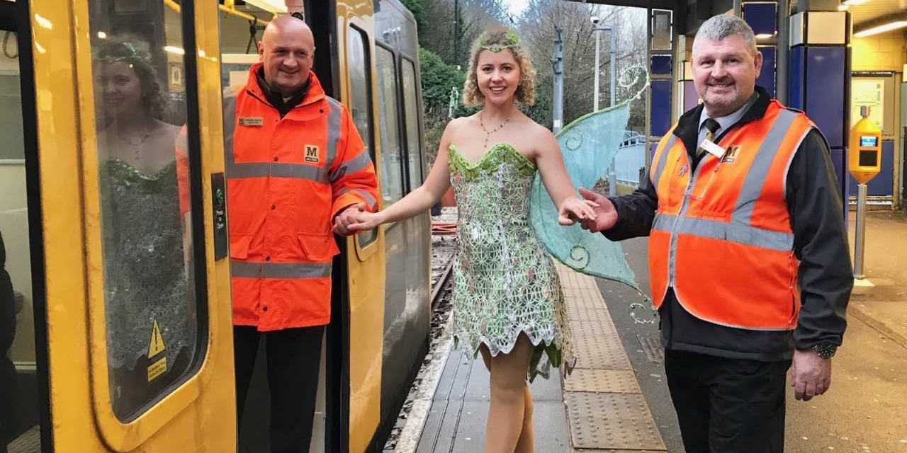 Free metro travel is just the ticket for tink this festive season!