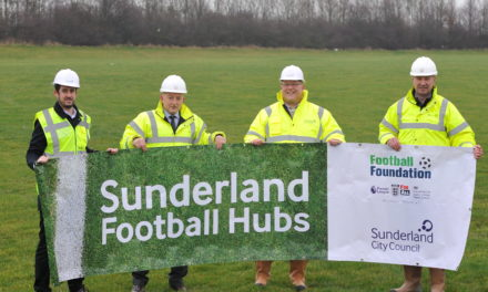 Construction begins on three new community football hubs in Sunderland