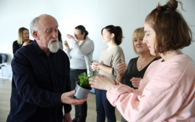 Learning to share the joy of theatre