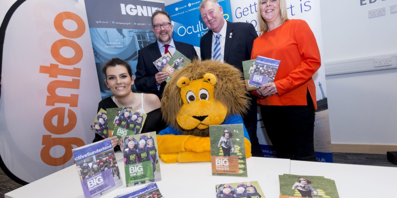 Roary makes his debut at launch of BIG events programme