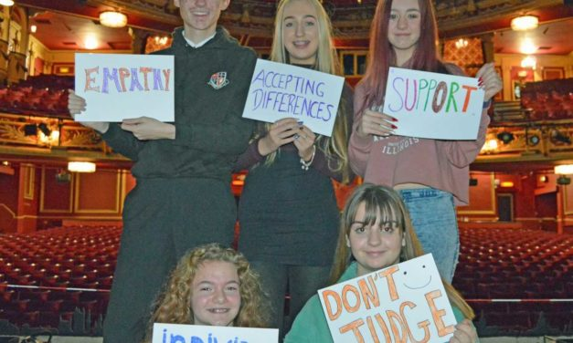 ATG and wicked use the power of theatre to support thousands of young people through anti-bullying and social media project