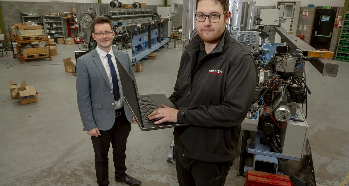 Sunderland's University graduate on a roll at textiles firm