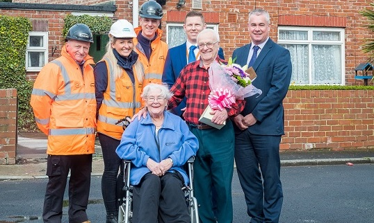 Gentoo celebrates 1000th roof replacement as part of significant investment